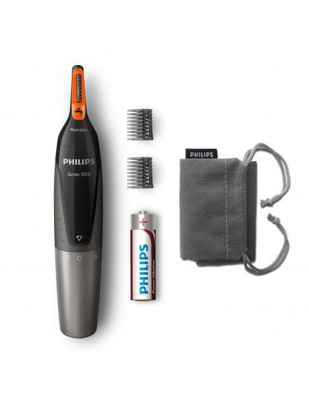 TAGLIACAPELLI: vendita online Philips NOSETRIMMER Series 3000 Rifinitore per peli naso, orecchie e sopracciglia NT3160/10 in ...