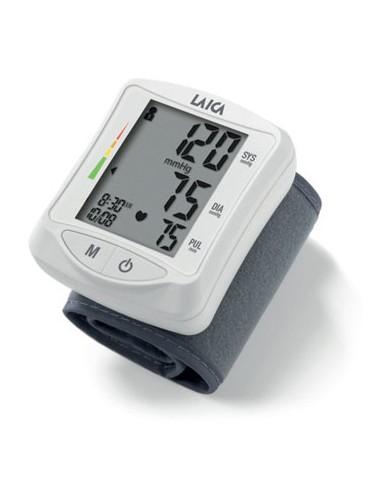 MISURATORI DI PRESSIONE: vendita online Laica BM1006 monitor per il battito cardiaco Polso Grigio, Bianco in offerta