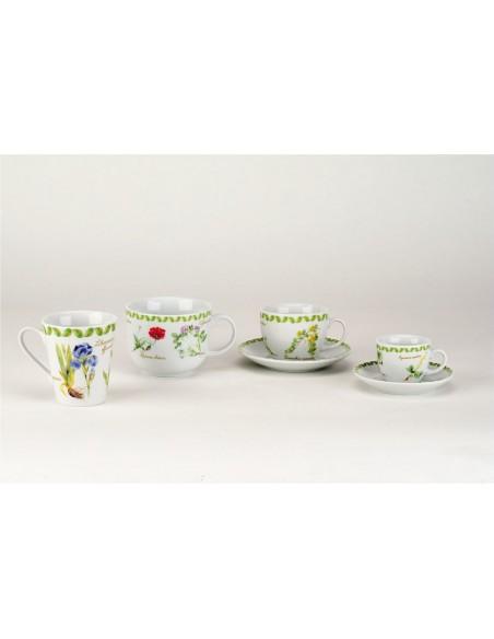 ACCESSORI PER LA TAVOLA: vendita online Tognana Porcellane IR017403457 tazza Verde, Rosso, Bianco Universale 1 pezzo(i) in of...