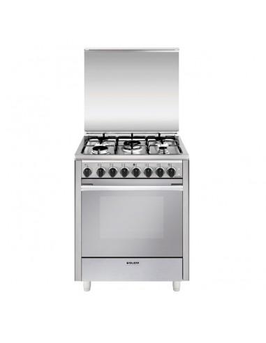 CUCINE CON FORNO ELETTRICO: vendita online Glem Gas U765MI6 cucina Piano cottura Acciaio inossidabile A in offerta