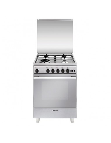 CUCINE CON FORNO A GAS: vendita online Glem U664VI cucina Piano cottura Acciaio inossidabile Gas A in offerta