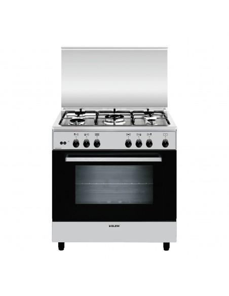 CUCINE CON FORNO A GAS: vendita online Glem A855GI cucina Piano cottura Acciaio inossidabile Gas A in offerta