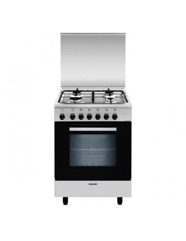 CUCINE CON FORNO ELETTRICO: vendita online Glem A664MI6 cucina Piano cottura Acciaio inossidabile Gas A in offerta