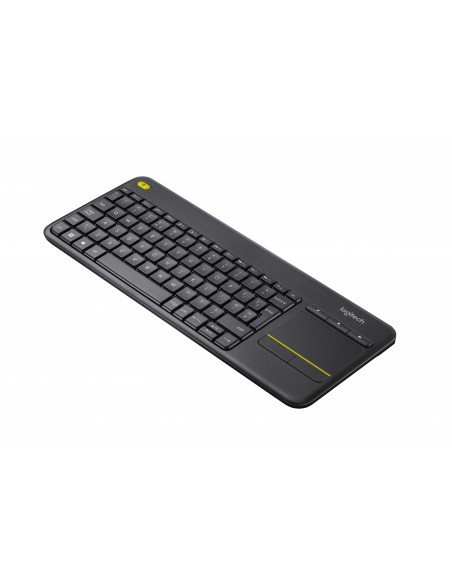 TASTIERE SMART TV: vendita online Logitech K400 Plus tastiera RF Wireless QWERTY Italiano Nero in offerta