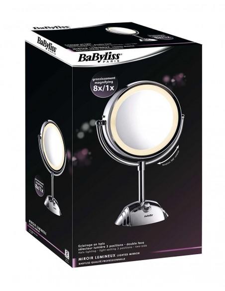 SPECCHI COSMETICI: vendita online BaByliss 8438E specchietto per trucco Libera installazione Rotondo Acciaio inossidabile in ...