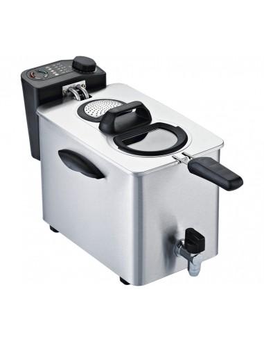 FRIGGITRICI: vendita online RGV FR TYPE4L friggitrice Singolo 4 L Indipendente 2500 W Nero, Acciaio inossidabile in offerta
