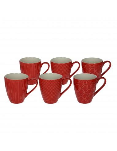 ACCESSORI PER LA TAVOLA: vendita online Tognana Porcellane RE114430798 tazza Rosso Universale 1 pezzo(i) in offerta