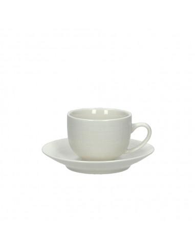 ACCESSORI PER LA TAVOLA: vendita online Tognana Porcellane Confezione 6 Tazze Caffè con Piatto 100cc Victoria in offerta