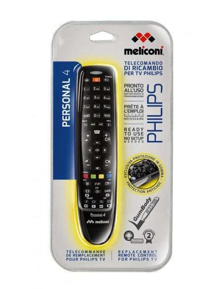 TELECOMANDI: vendita online Meliconi Gumbody Personal 4 telecomando IR Wireless TV Pulsanti in offerta
