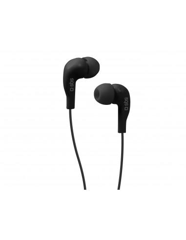 AURICOLARI E VIVAVOCE: vendita online SBS Auricolari filo stereo in-ear Studio Mix 10, jack 3,5 mm con microfono e tasto alla...
