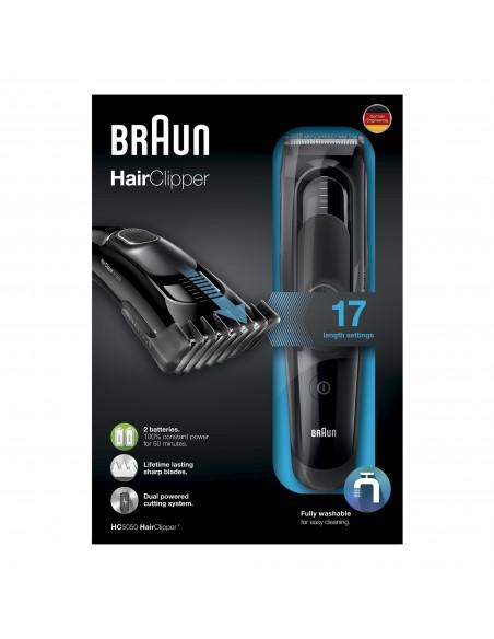 TAGLIACAPELLI: vendita online Braun HC5050 Nero in offerta