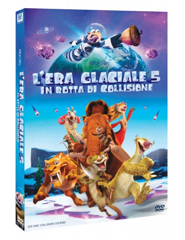 FILM: vendita online 20th Century Fox L'era Glaciale 5: In Rotta Di Collisione DVD 2D Inglese, ITA in offerta