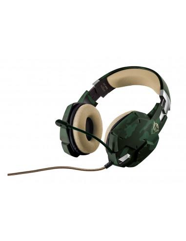 ACCESSORI GIOCHI PC: vendita online Trust GXT 322C Cuffia Padiglione auricolare Connettore 3.5 mm Verde in offerta