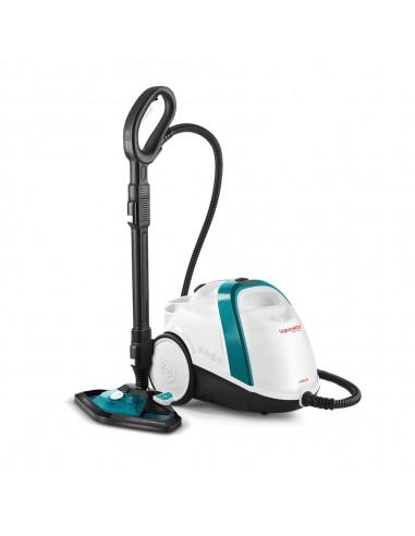 PULITORI A VAPORE: vendita online Polti Vaporetto Smart 100_T Pulitore a vapore cilindrico 1500 W Blu, Bianco in offerta