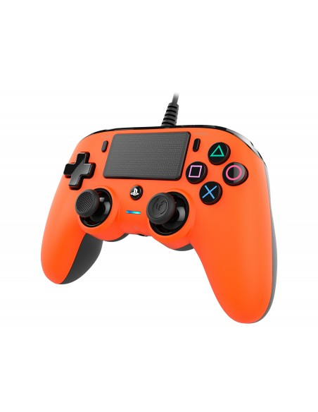 ACCESSORI PS4: vendita online NACON PS4OFCPADORANGE periferica di gioco Gamepad PlayStation 4 Analogico/Digitale Arancione in...