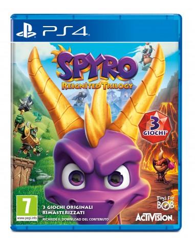GIOCHI PS4: vendita online Sony PS4 Spyro Reignited Trilogy in offerta