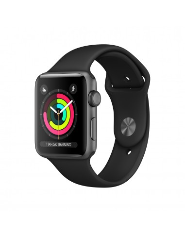 SMARTWATCH: vendita online Apple Watch Series 3 smartwatch, 42 mm, Grigio OLED GPS (satellitare) in offerta