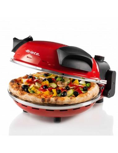FORNETTI ELETTRICI: vendita online Ariete 0909 macchina e forno per pizza 1 pizza(e) 1200 W Nero, Rosso in offerta
