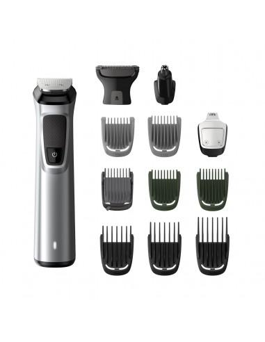 REGOLABARBA: vendita online Philips MULTIGROOM Series 7000 13 accessori 13-in-1, barba, capelli e corpo in offerta