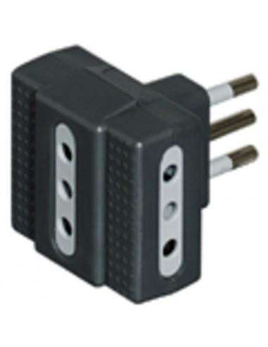 MATERIALE ELETTRICO: vendita online bticino S3603G adattatore per presa di corrente Antracite in offerta