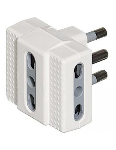 MATERIALE ELETTRICO: vendita online bticino S3604D adattatore per presa di corrente Bianco in offerta