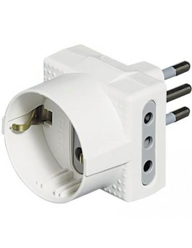 MATERIALE ELETTRICO: vendita online bticino S3610D adattatore per presa di corrente Bianco in offerta