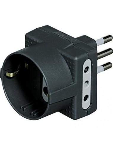 MATERIALE ELETTRICO: vendita online bticino S3610G adattatore per presa di corrente Antracite in offerta