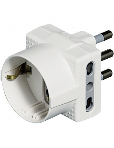 MATERIALE ELETTRICO: vendita online bticino S3611D adattatore per presa di corrente Tipo L (IT) Bianco in offerta
