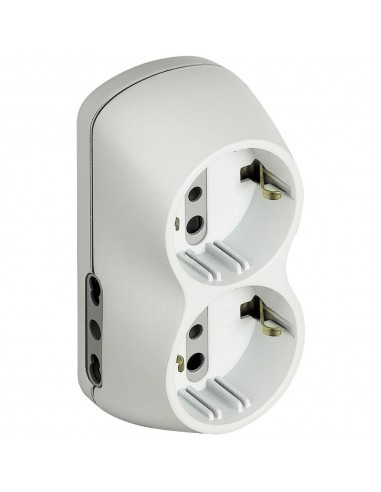 MATERIALE ELETTRICO: vendita online bticino S3614D adattatore per presa di corrente Tipo L (IT) Bianco in offerta