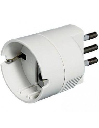 MATERIALE ELETTRICO: vendita online bticino S3623D adattatore per presa di corrente Bianco in offerta