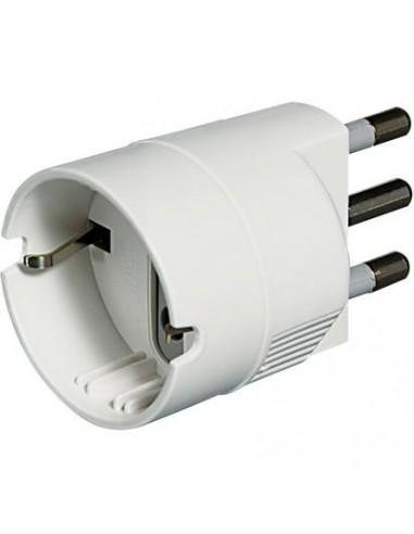 MATERIALE ELETTRICO: vendita online bticino S3624D adattatore per presa di corrente Bianco in offerta