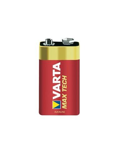 BATTERIE: vendita online Varta MAX TECH Alkaline 9V Batteria monouso Alcalino in offerta