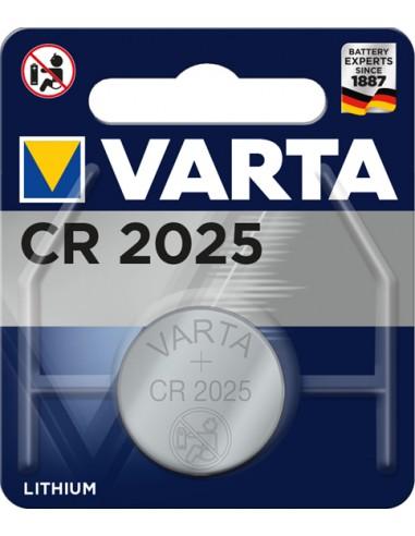 BATTERIE: vendita online Varta CR 2025 Primary Lithium Button Batteria monouso CR2025 Litio in offerta