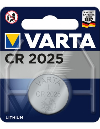 BATTERIE: vendita online Varta Primary Lithium Button CR 2025 Batteria monouso Nichel – oxyhydroxide (NiOx) in offerta