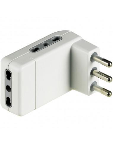 MATERIALE ELETTRICO: vendita online bticino S3606DE adattatore per presa di corrente Tipo L (IT) Bianco in offerta