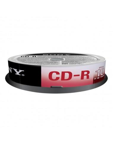 CD: vendita online Sony CD-R 700 MB (80 min), 10 pk 10 pezzo(i) in offerta
