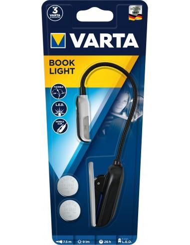 BATTERIE: vendita online Varta 16618101421 Torcia elettrica con clip Nero, Argento LED in offerta