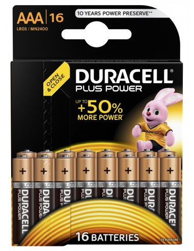 BATTERIE: vendita online Duracell Plus Power Batteria monouso Mini Stilo AAA Alcalino in offerta