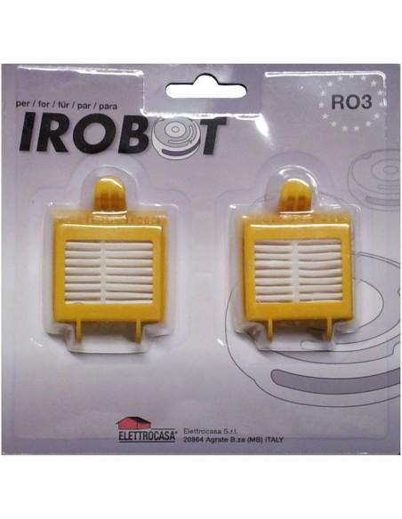 SACCHETTI ASPIRAPOLVERE: vendita online Elettrocasa RO 3 accessorio e ricambio per aspirapolvere Robot aspirapolvere Filtro i...