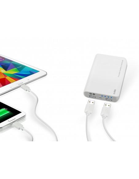 CARICABATTERIE: vendita online SBS TTBB70002UW batteria portatile Bianco Litio 7000 mAh in offerta