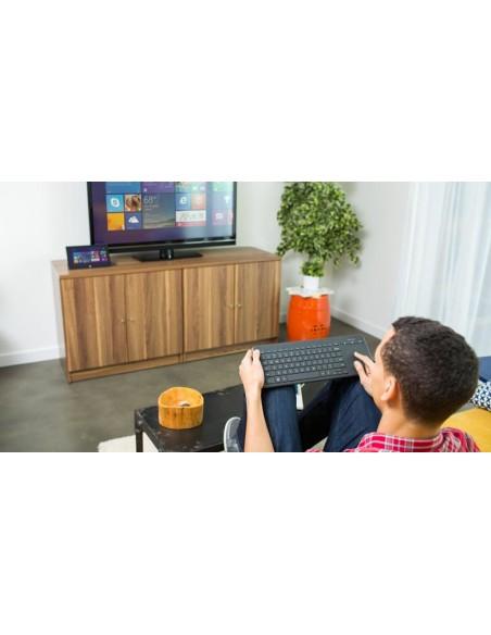 TASTIERE SMART TV: vendita online Microsoft All-in-One Media Keyboard tastiera RF Wireless Inglese Nero in offerta