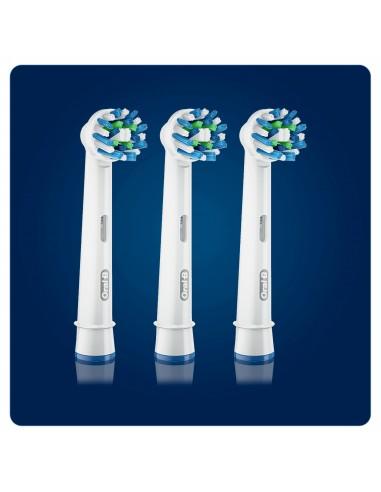 ACCESSORI CURA E BELLEZZA: vendita online Oral-B CrossAction Testine Per Spazzolino X3 in offerta