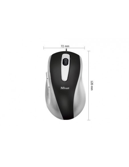 TASTIERE E MOUSE: vendita online Trust EasyClick mouse USB tipo A Ottico 1000 DPI in offerta