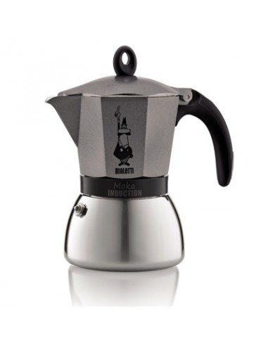 CAFFETTIERE: vendita online Bialetti 4823 Moka Nero, Grigio, Acciaio inossidabile in offerta