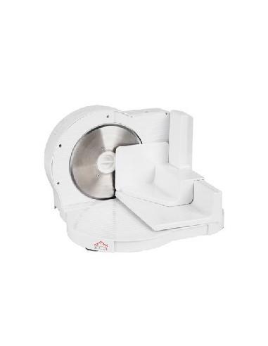 AFFETTATRICI: vendita online DCG Eltronic AS2455 affettatrice Elettrico 150 W Bianco Plastica in offerta