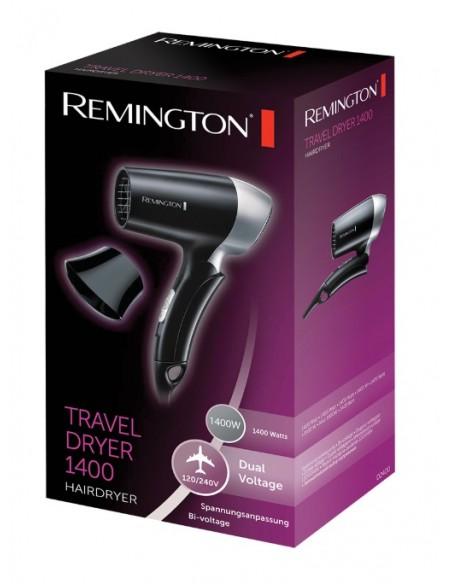 ASCIUGACAPELLI: vendita online Remington D2400 Nero, Argento 1400 W in offerta