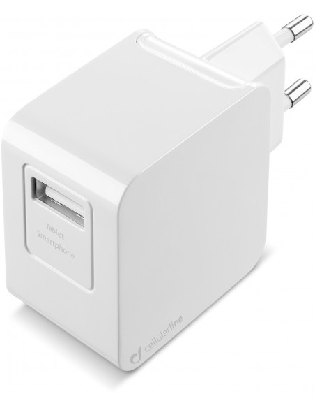 CARICABATTERIE: vendita online Cellularline USB Charger Kit Ultra - Fast Charge Universale Cavo e caricabatterie veloce 10W i...