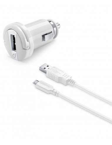 CARICABATTERIE: vendita online Cellularline USB Car Charger Kit Ultra - Fast Charge Micro USB Cavo e caricabatterie veolce 10...