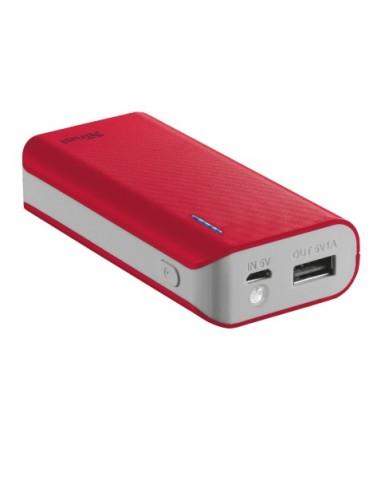 CARICABATTERIE: vendita online Trust Primo 4400 batteria portatile 4400 mAh Rosso in offerta