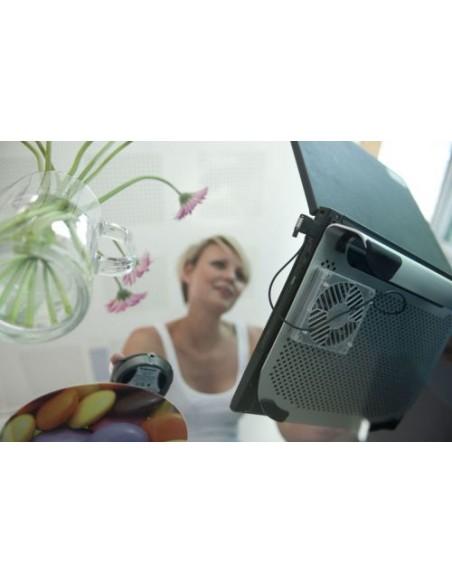 """ACCESSORI COMPUTER: vendita online Fellowes 8018801 base di raffreddamento per notebook 38,1 cm (15"""") Argento in offerta"""